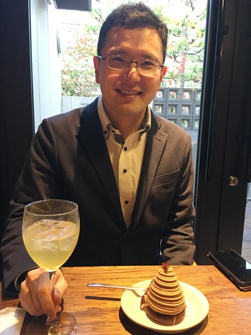 日本茶ソムリエの和多田喜さん