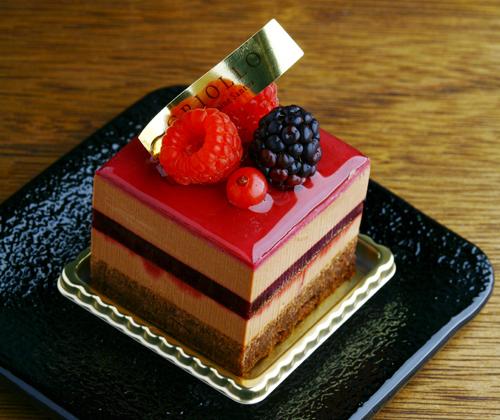 世界コンクールで優勝したケーキ「ニルヴァナ」