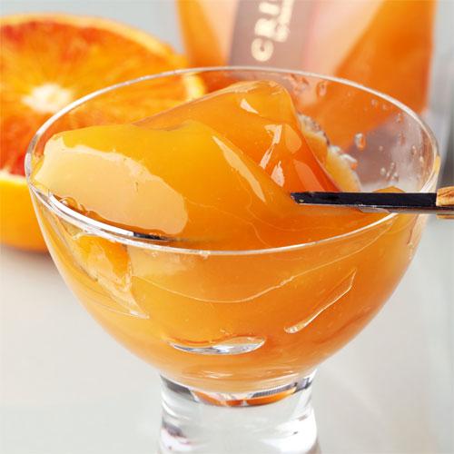 ブラッドオレンジゼリー