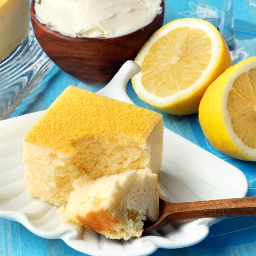 レモン・チーズケーキ