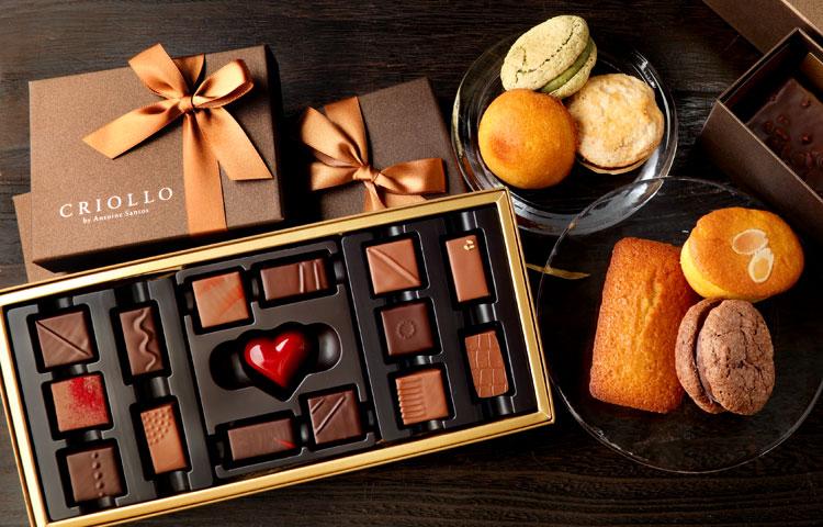 チョコレート、焼き菓子